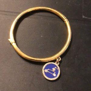Kate Spade Leo charm bangle bracelet